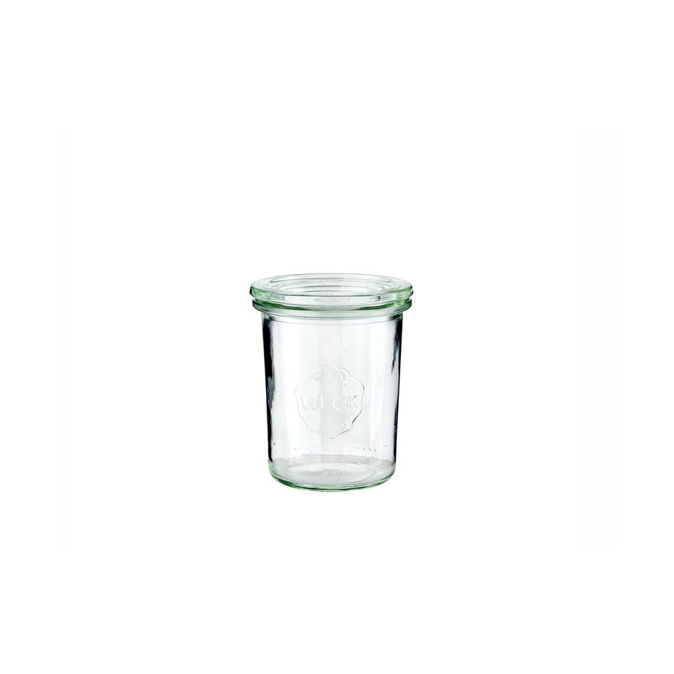 Vasetto Weck con coperchio in vetro
