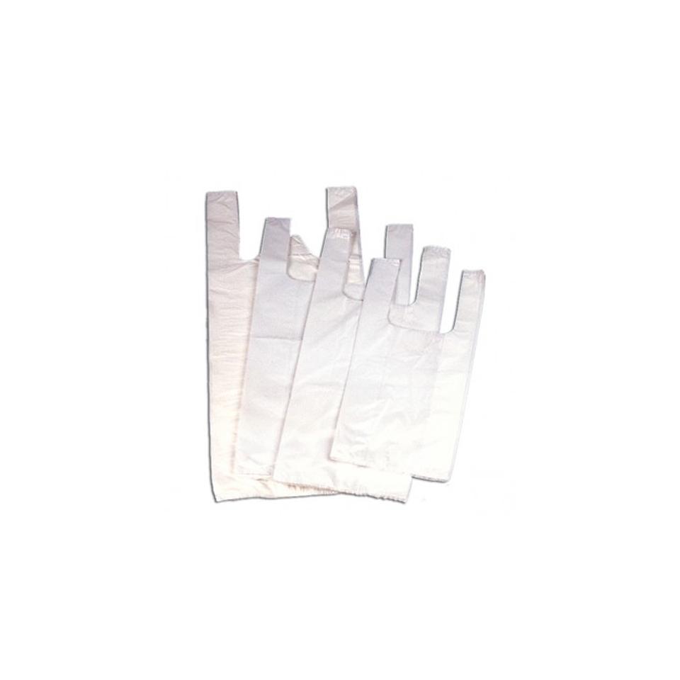 Sacchetto borsa in plastica oxo-biodegradabile cm 27x50