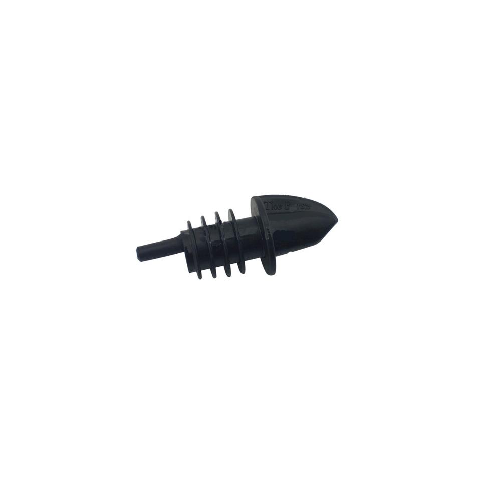 Plastic pour flusso calibrato colore nero