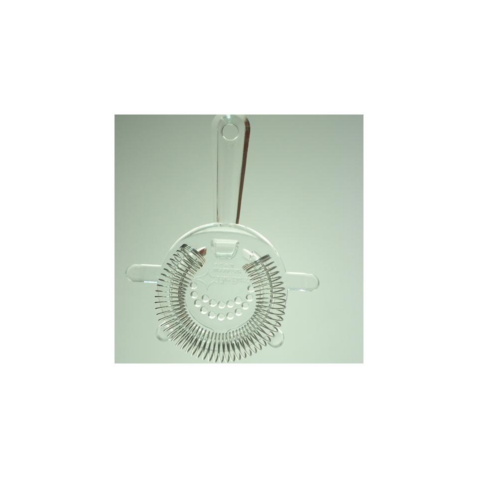 Colino strainer in policarbonato trasparente cm 8