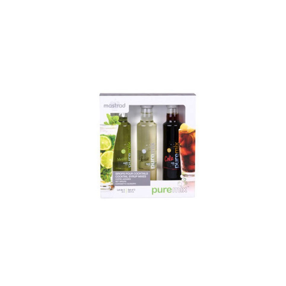 Sciroppi cocktails Mohito, Tonic, Cola