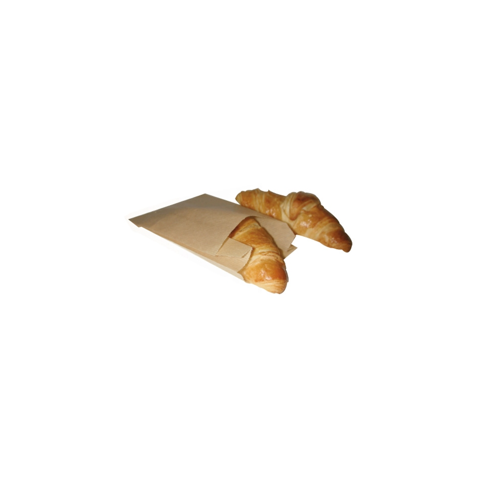 Sacchetti per alimenti in carta marrone cm 22 x 12