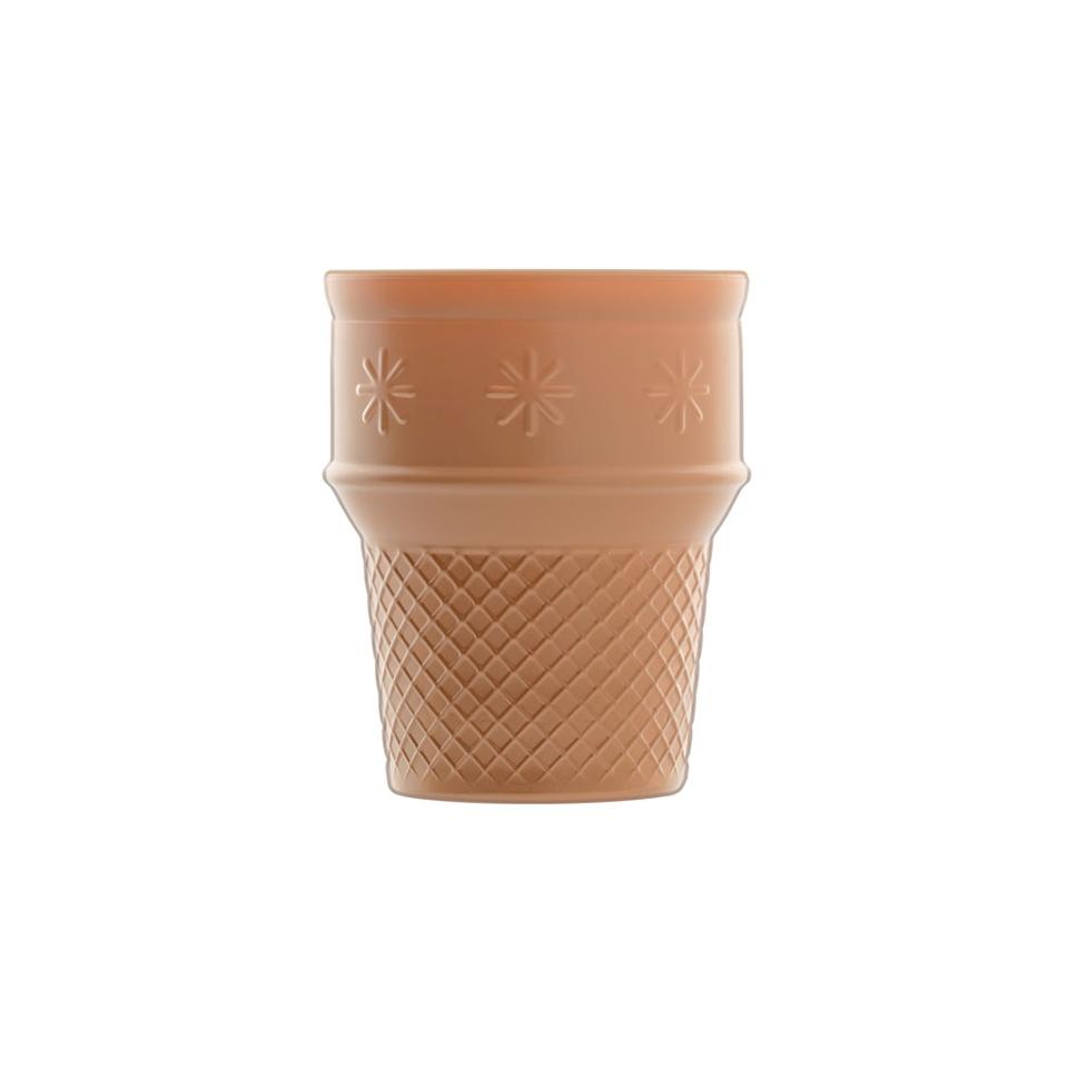 Cono gelato Luigi Bormioli in vetro color wafer cl 25