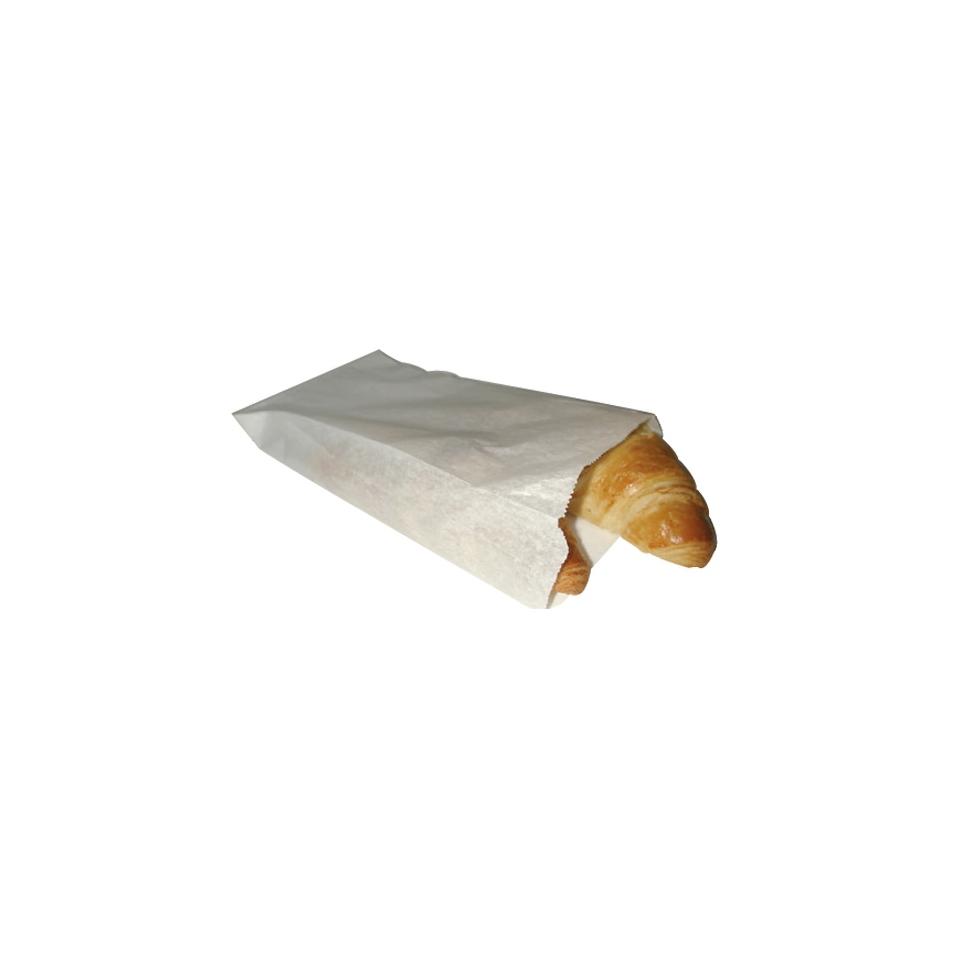 Sacchetti per alimenti in carta bianco cm 28 x 14