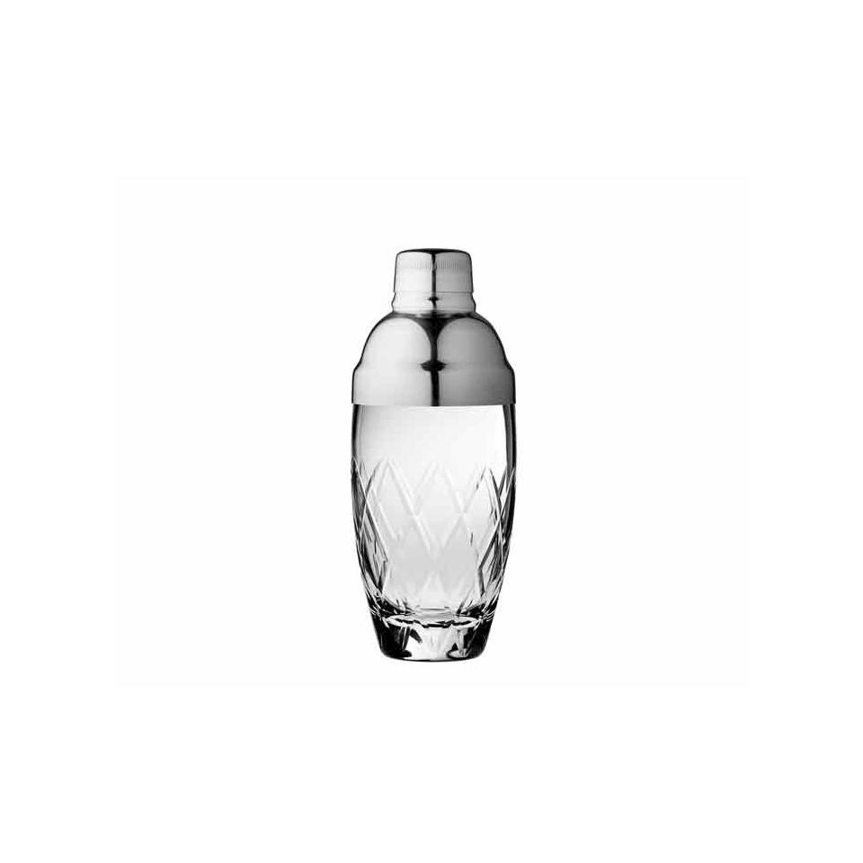 Shaker Diamond Urban Bar in vetro e acciaio cl 40