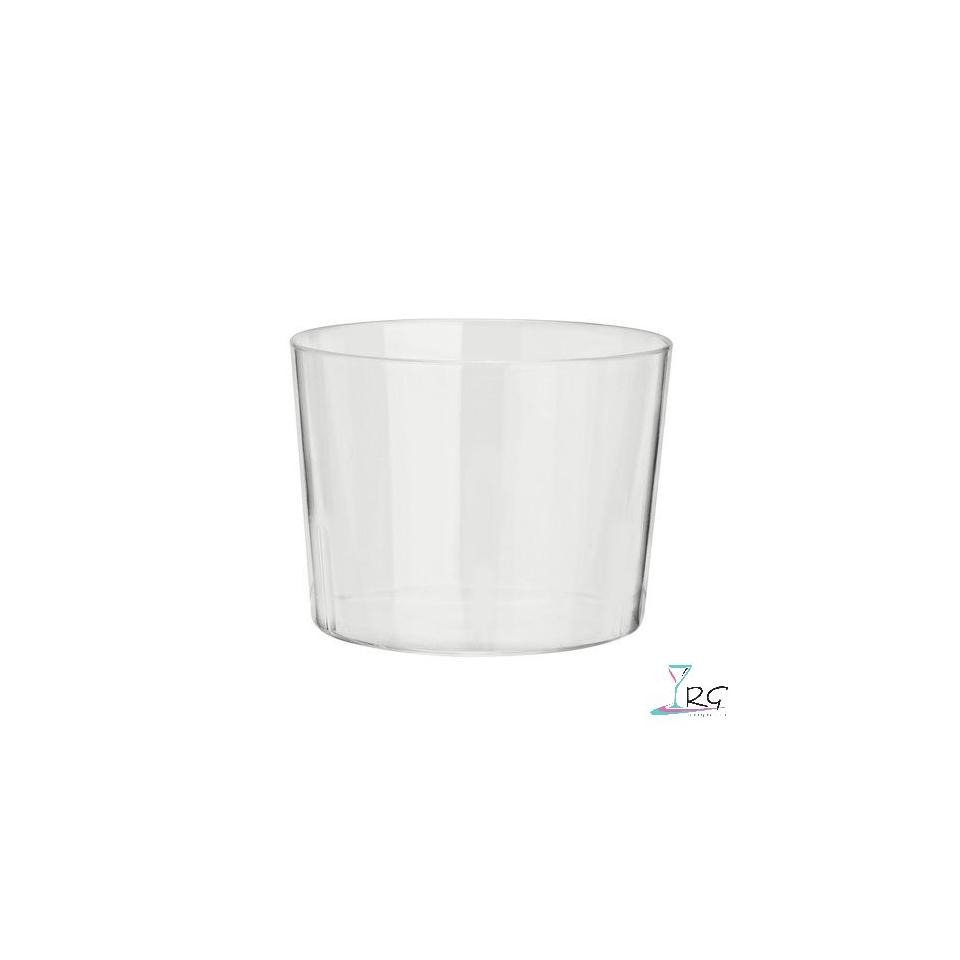 Coppette Diamant in plastica trasparenti cl 40