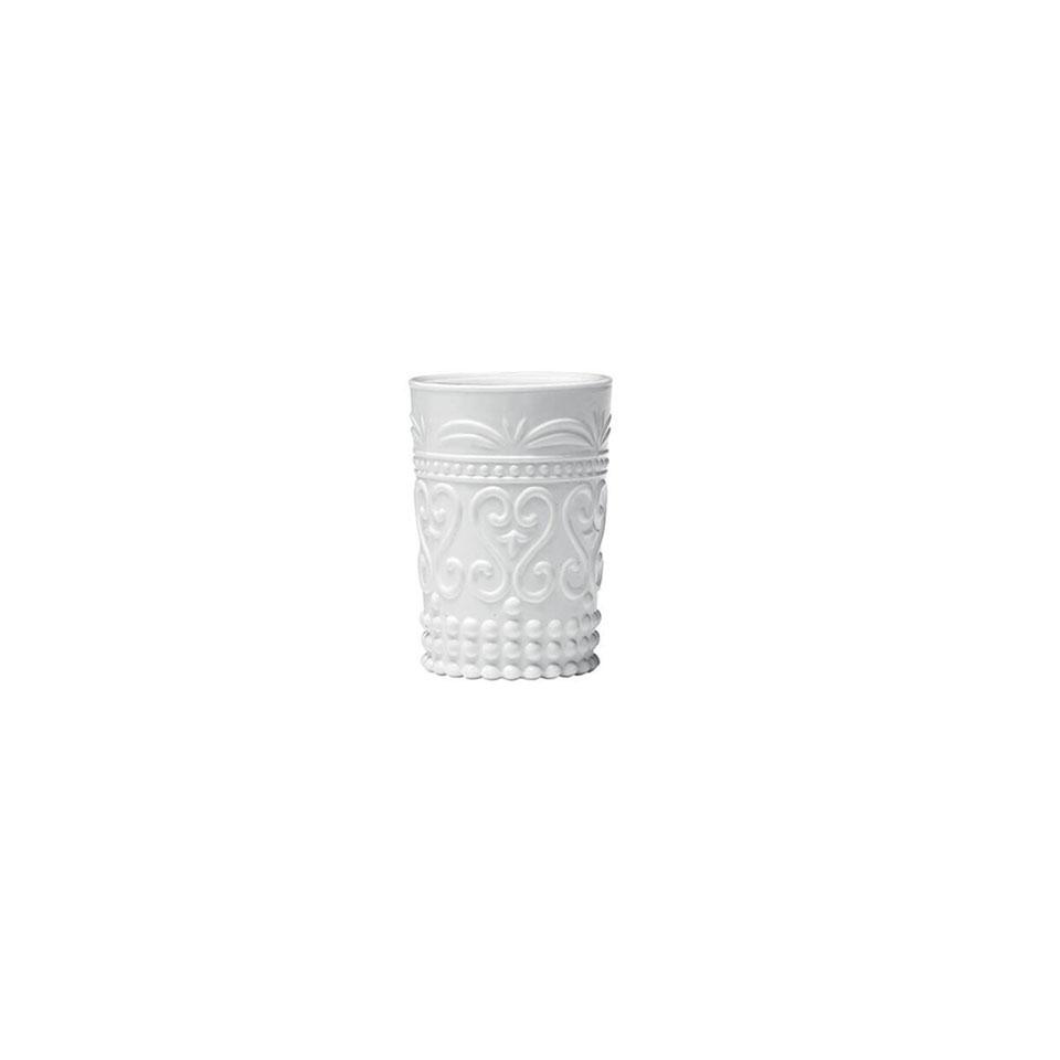 Bicchiere provenzale Rock Zafferano in vetro cl 27