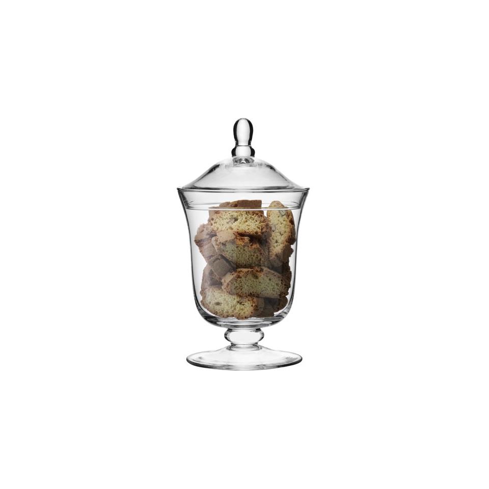 Vaso BonBon Serve LSA con coperchio in vetro 25 cm