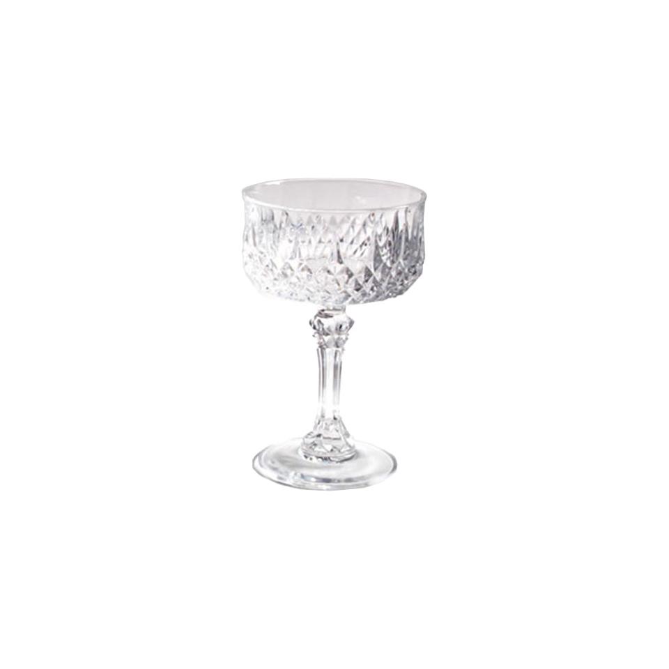 Coppa Champagne Longchamp in cristallo cl 23