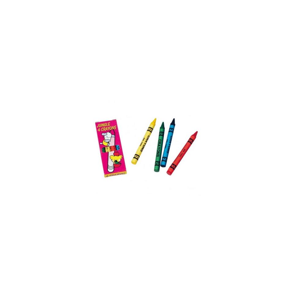 Pastelli a cera per bambini colori assortiti