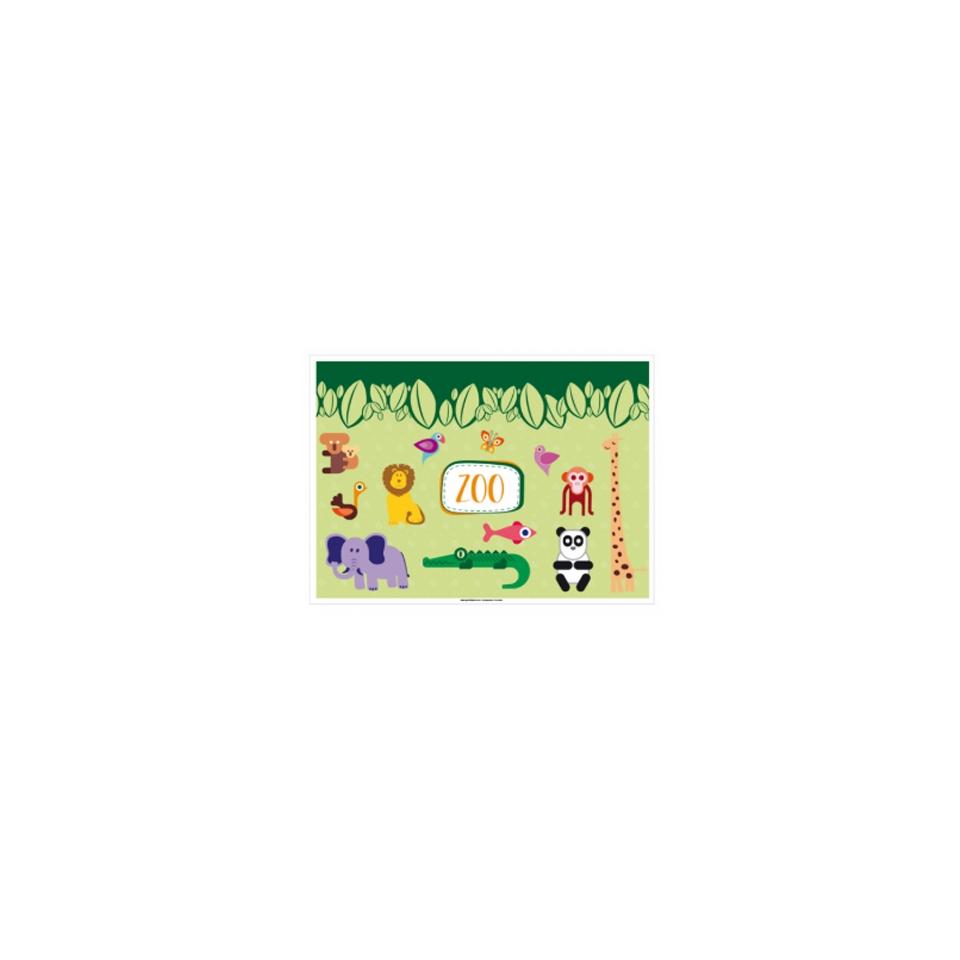 Tovagliette monouso bimbi Clown cm 31x43