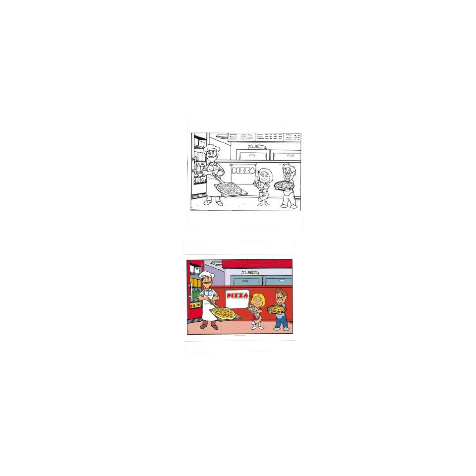 Tovagliette monouso bimbi Pizza cm 31x43