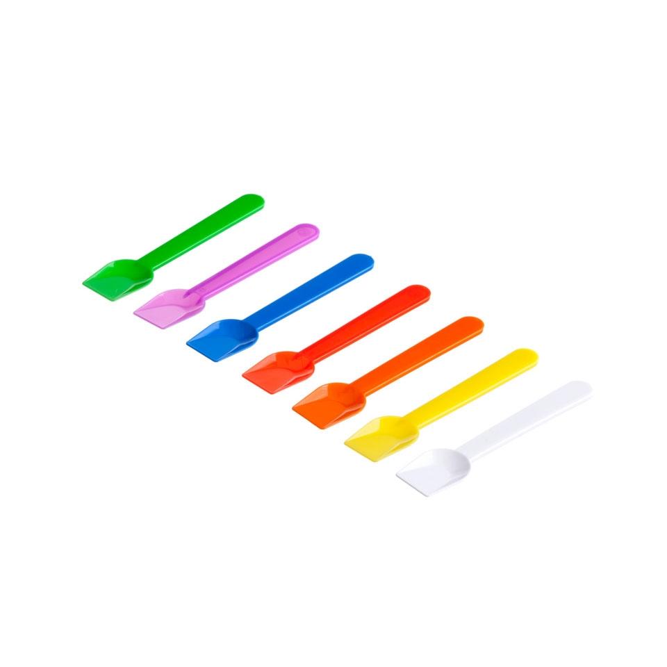 Palette gelato in plastica colori assortiti coprenti cm 10