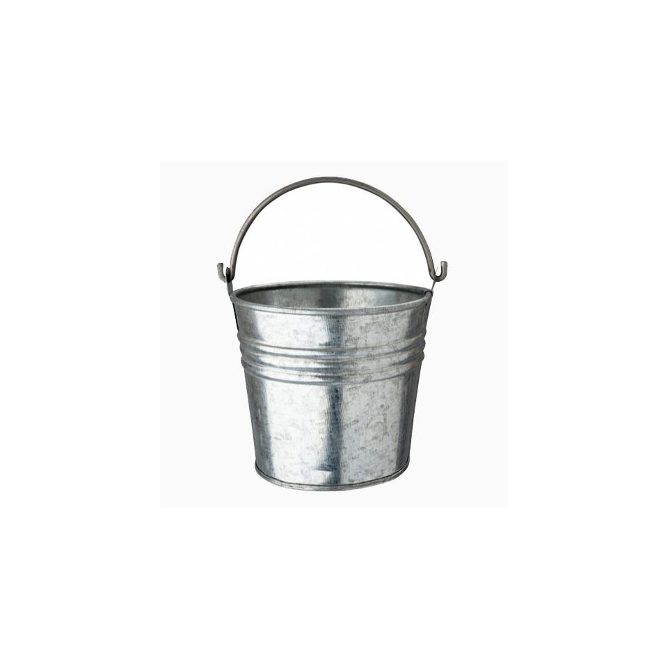 Minisecchiello in acciaio galvanizzato cm 10,5