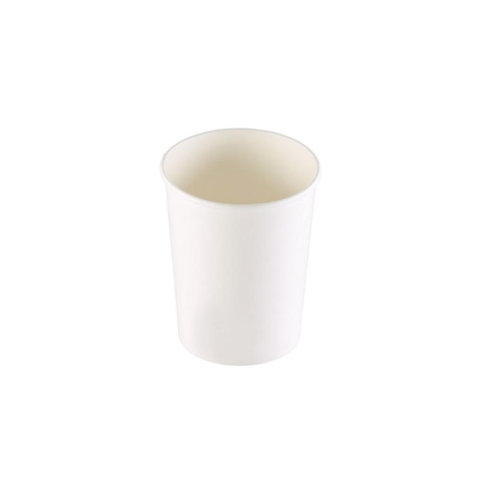 Coppette asporto monouso Soup Duni in cartone bianco cl 103