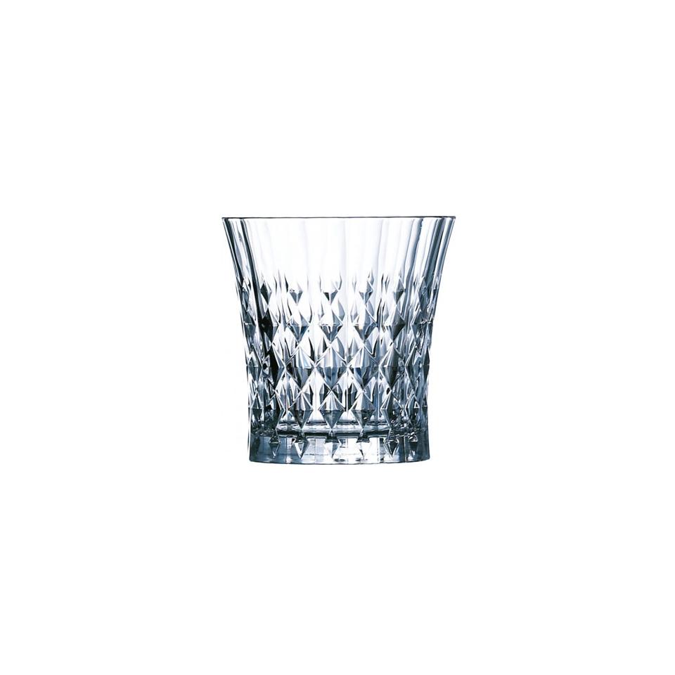 Bicchiere Lady Diamond in vetro cl 24