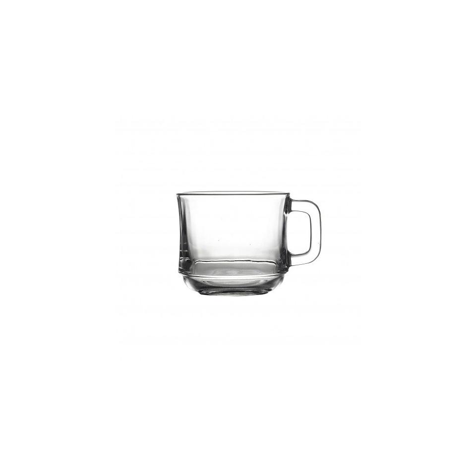 Tazza Lys Duralex con manico in vetro cl 22