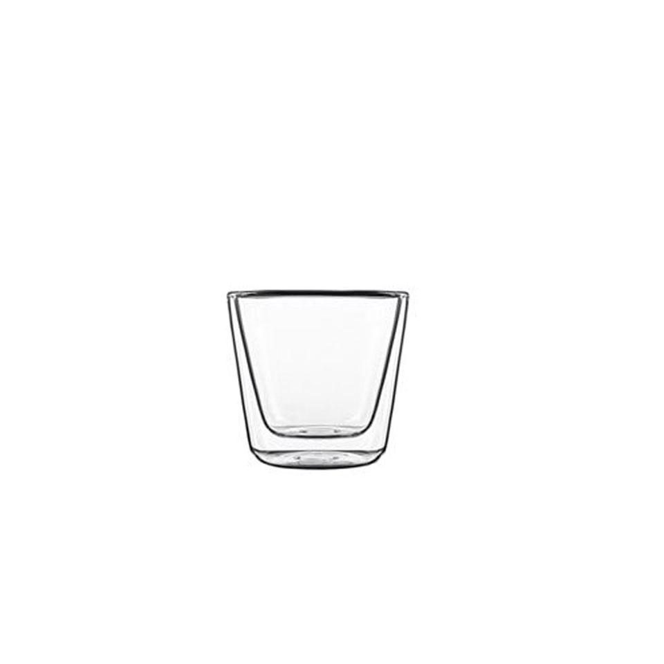 Bicchiere termico Conico Bormioli Luigi in vetro cl 11