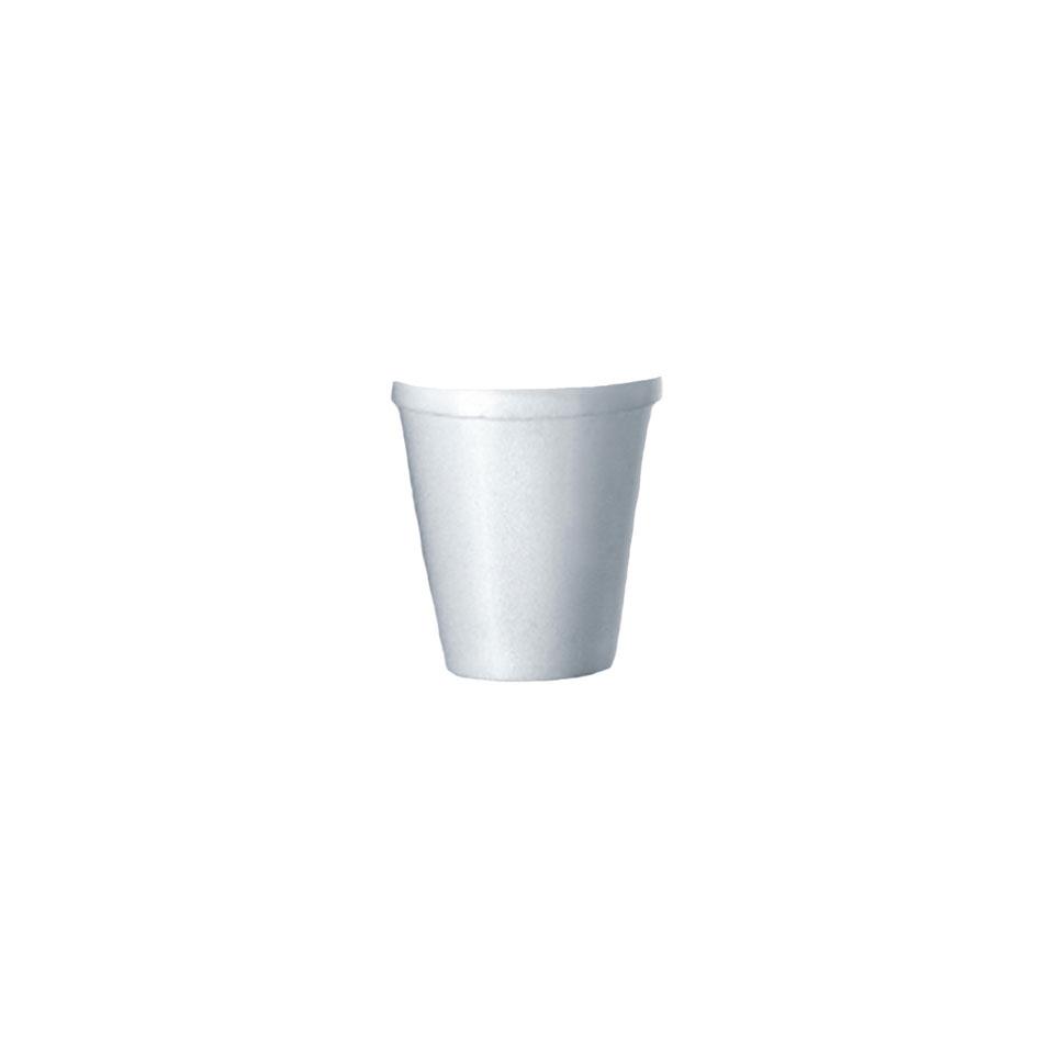Bicchiere termico monouso té in polistirolo cl 20