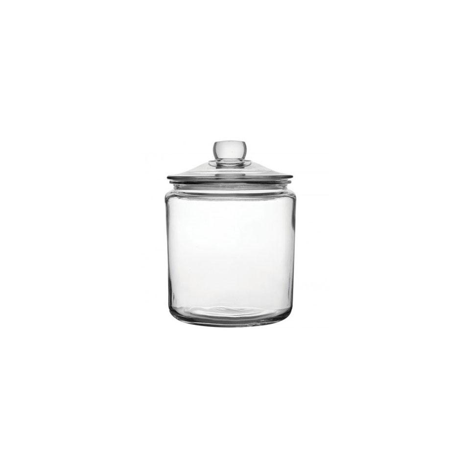 Barattolo Jar con coperchio in vetro lt 3,8
