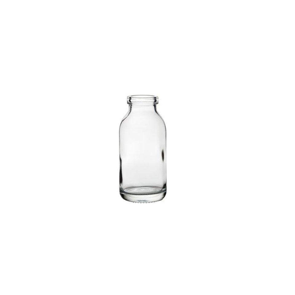 Minibottiglia per latte in vetro cl 12