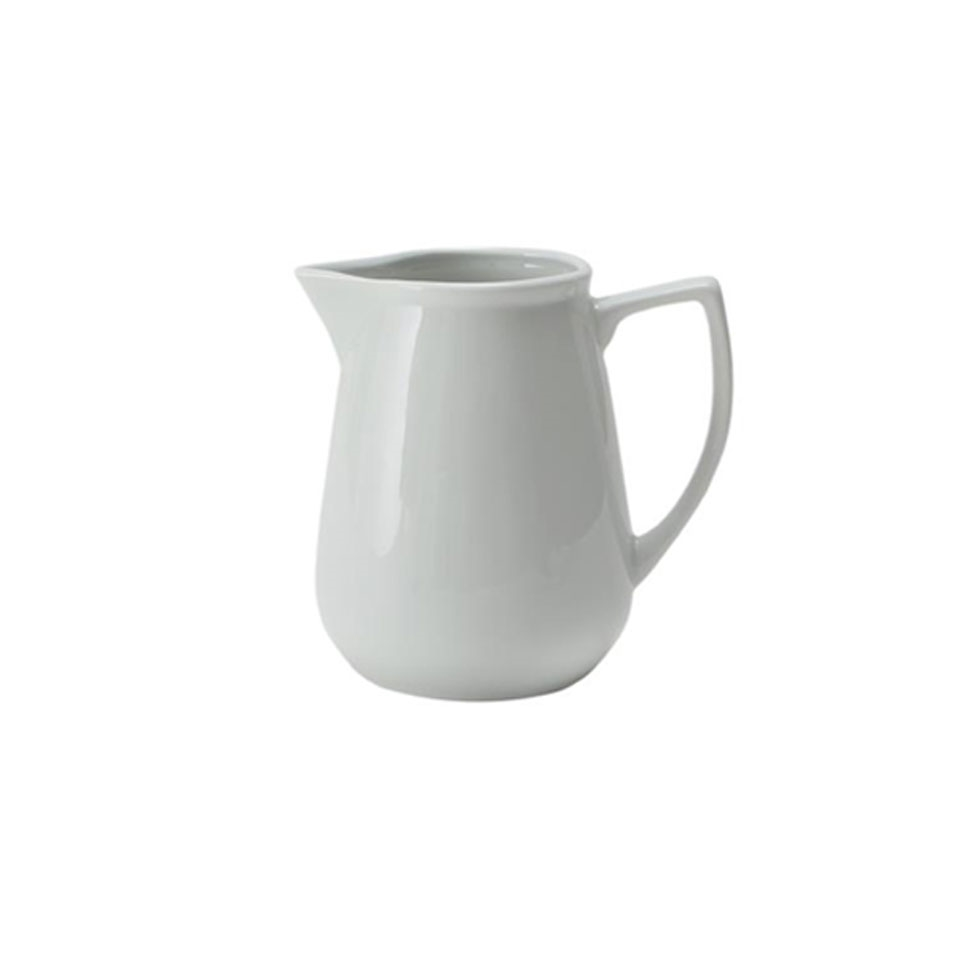 Lattiera Roma Saturnia in porcellana bianca