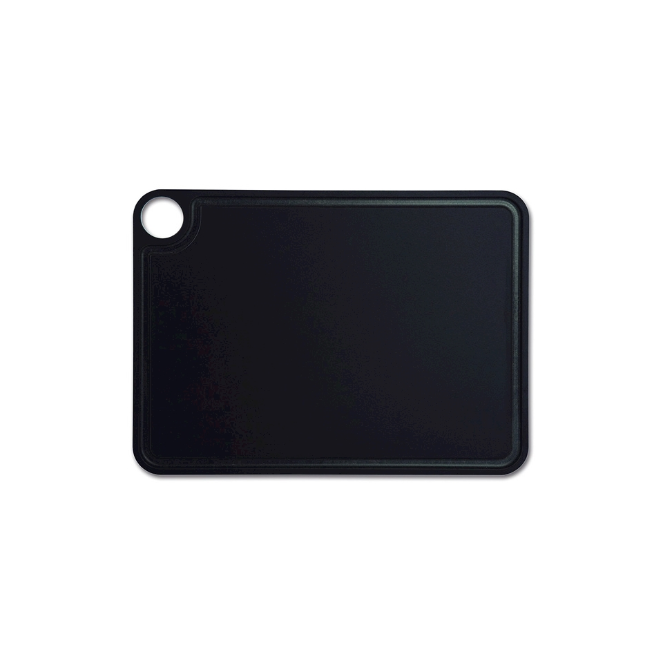 Tagliere rettangolare Arcos in fibra di cellulosa nera cm 37,7x27,7
