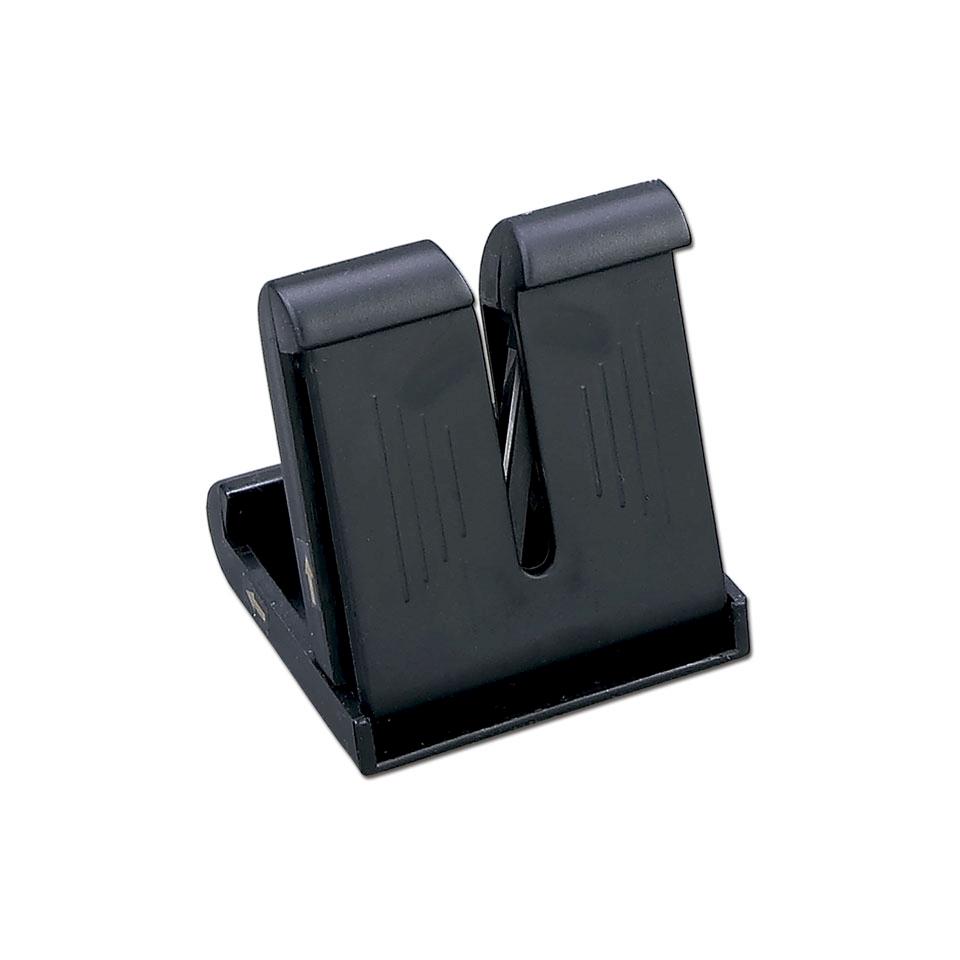 Affilacoltelli professionale Arcos in plastica nera