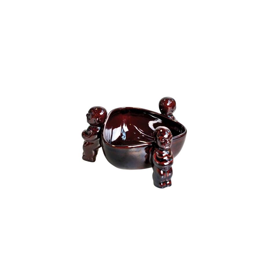 Tiki mug Scorpion in porcellana marrone cl 83