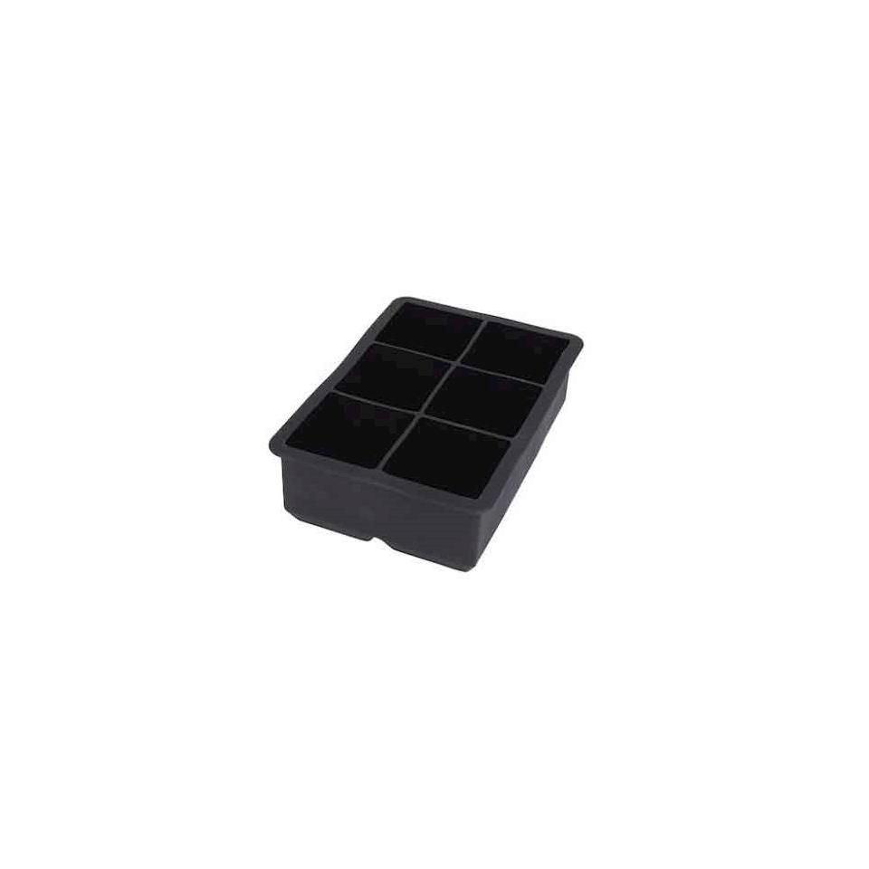 Stampo ghiaccio XL in silicone nero cm 4,9x4,9