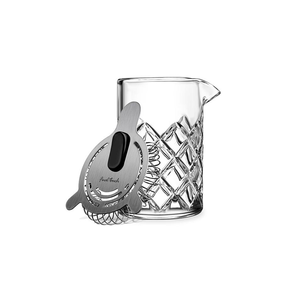 Set mixing glass stile Yarai con colino cl 40