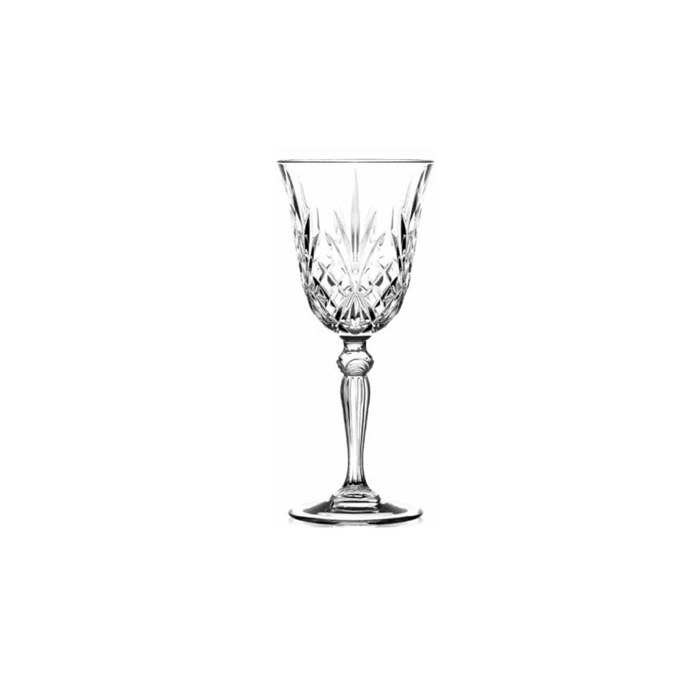 Calici Vino E Acqua calice vino melodia rcr in vetro cl 21