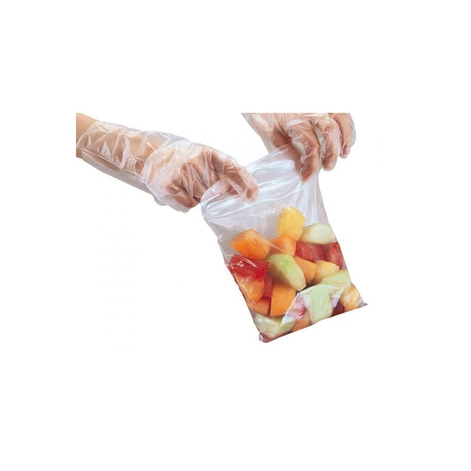 Sacchetti con cerniera in politene cm 27x27