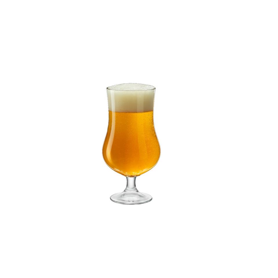 Calice birra Ale Rocco Bormioli in vetro cl 42