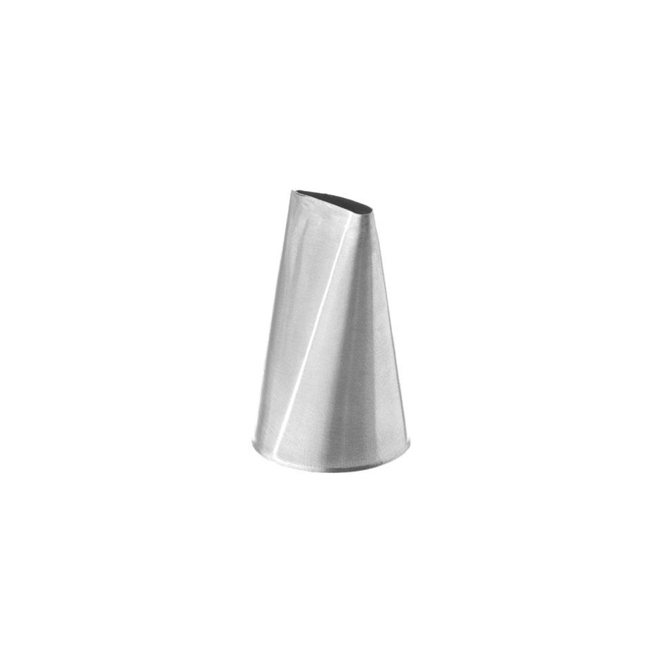 Bocchetta sac a poche petalo piccolo in acciaio inox