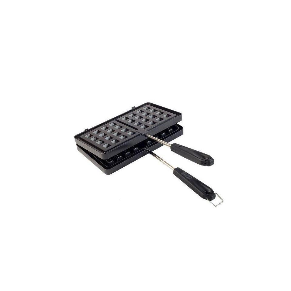 Stampo doppio Waffle in alluminio antiaderente
