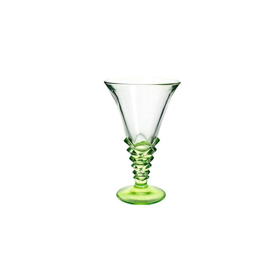 Coppa gelato Palmier in vetro verde cl 37