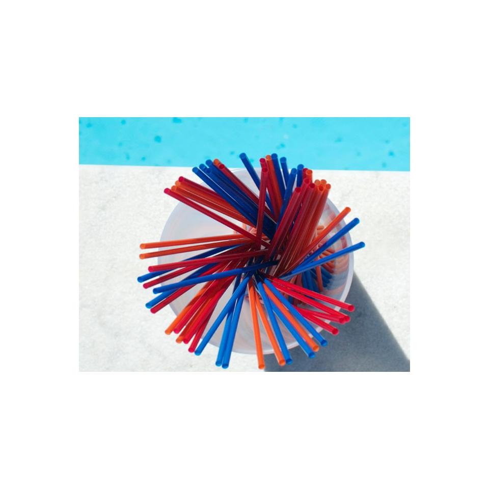 Cannucce Slim colori assortiti cm 22x0,3