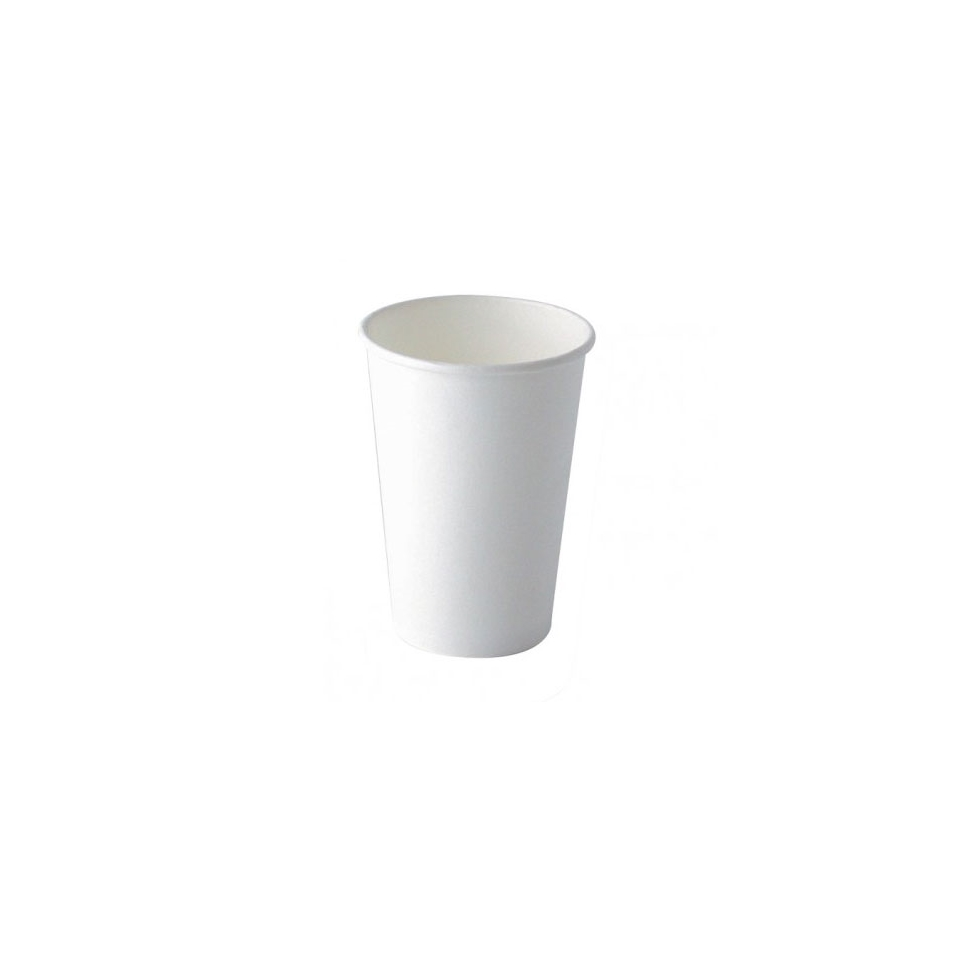 Bicchiere cappuccino in cartone bianco cl 34
