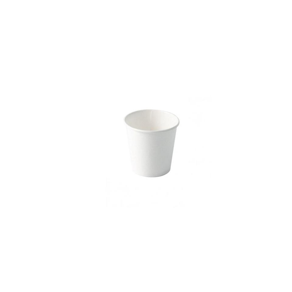 Bicchiere caffè in cartone bianco cl 12