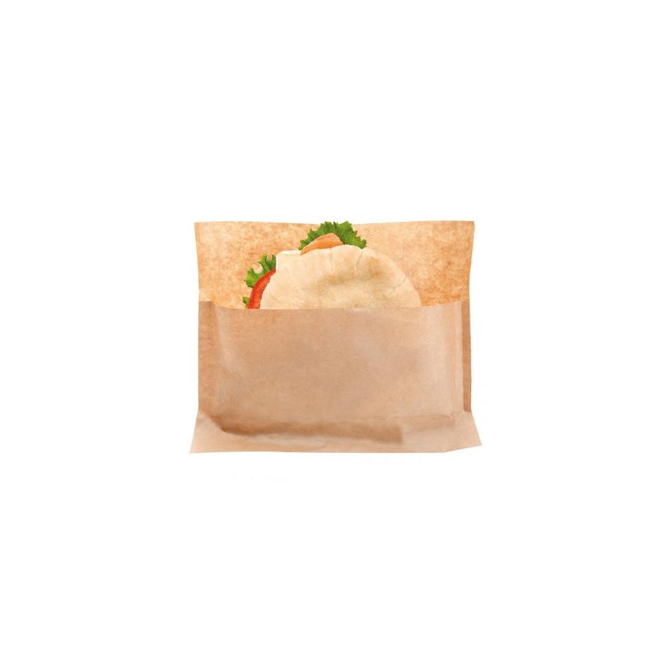 Sacchetti porta panini Kangoo in carta marrone cm 21x17