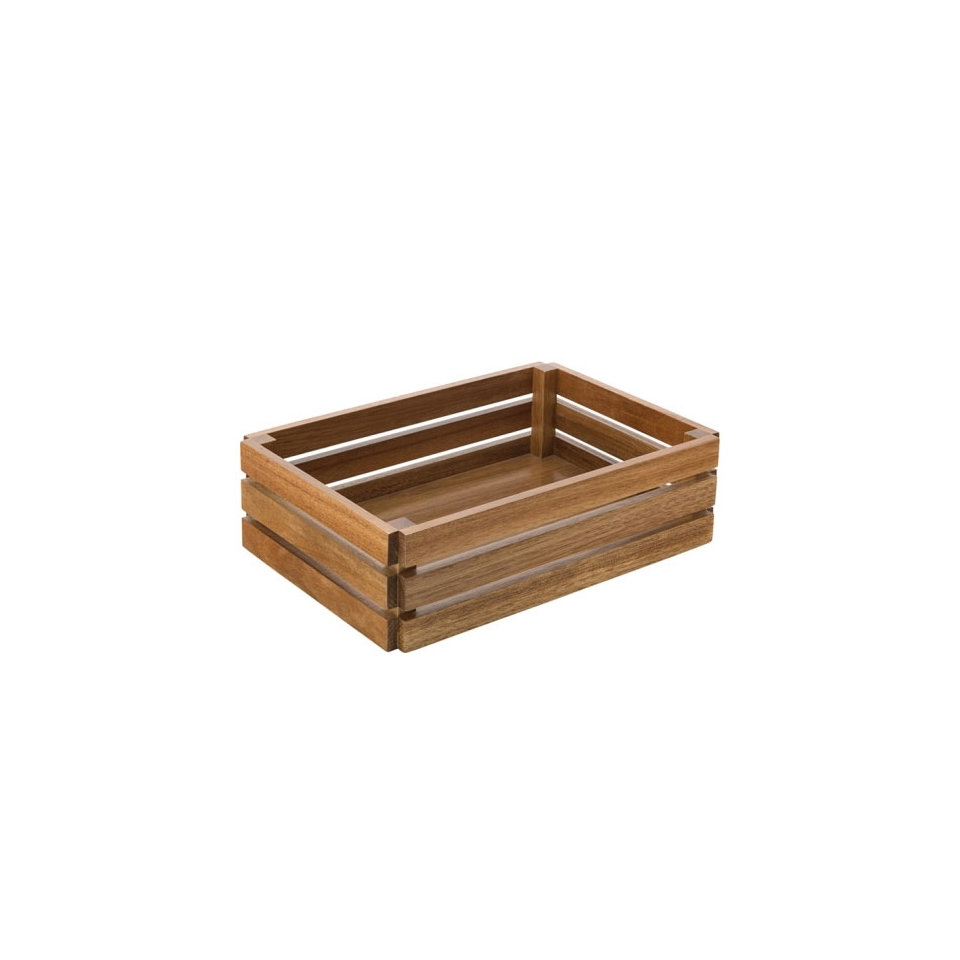 Cassetta in legno cm 32x22x9