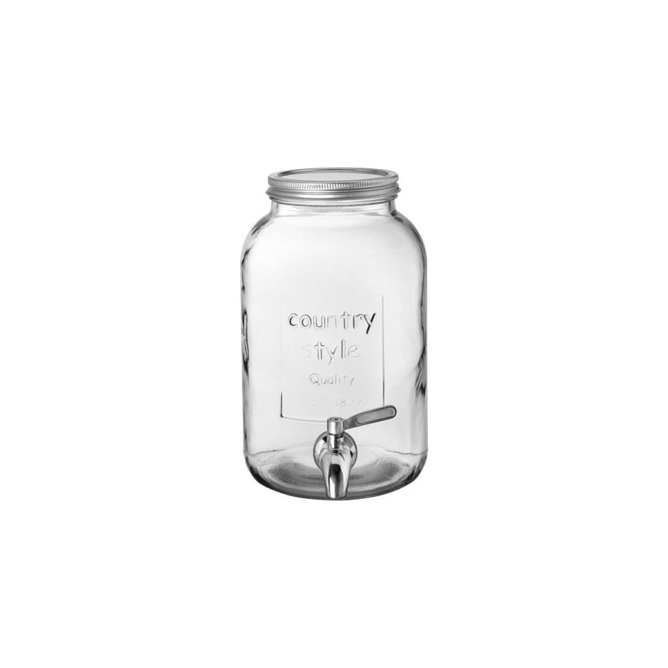 Vaso country Punch barrel in vetro lt 4