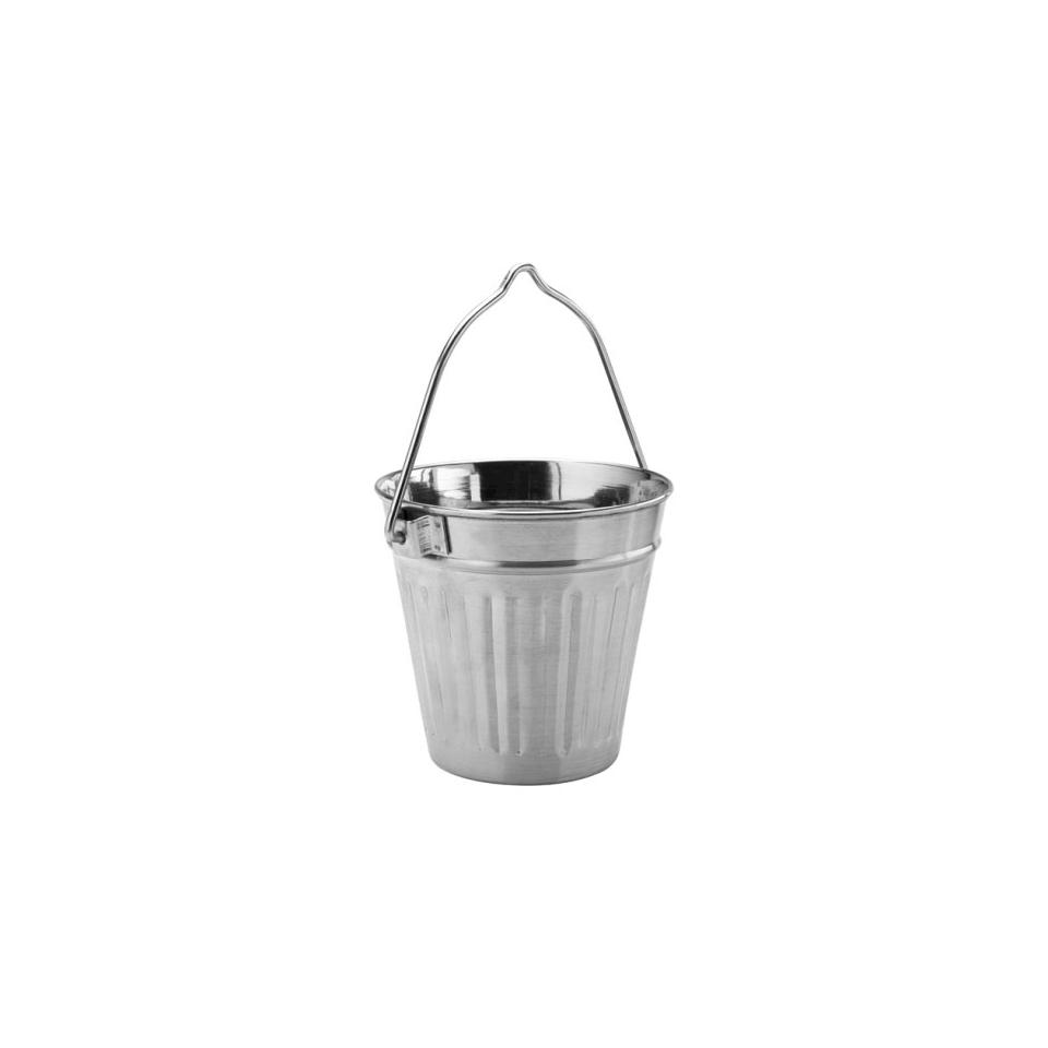 Mini secchiello Can per fritti in acciaio inox cm 9,5