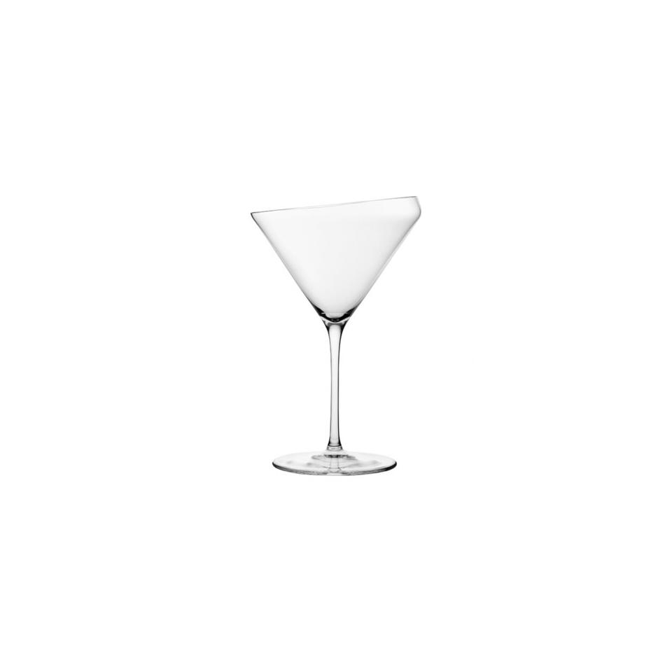 Coppa martini Edge in vetro cl 39