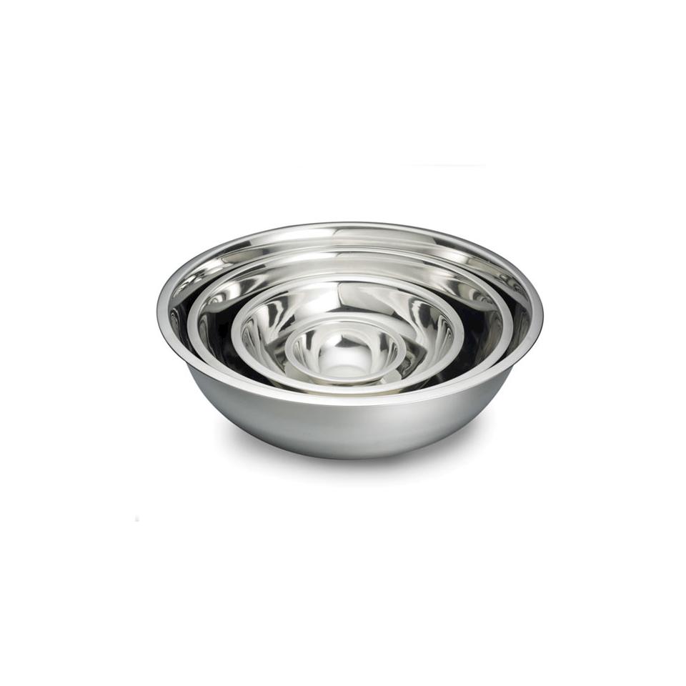 Bowl semisferica in acciaio inox