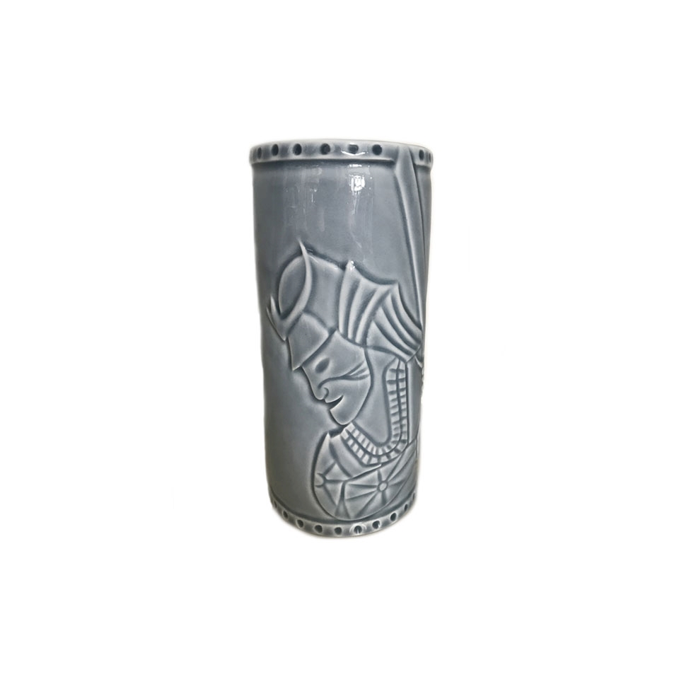 Tiki mug Samurai in porcellana cl 56