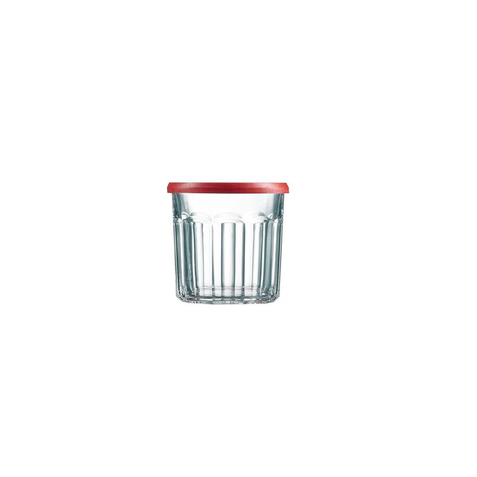 Bicchiere barattolo Confiture con coperchio cl 50