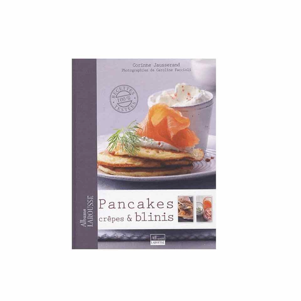 Libro Pancake crepe  blini autore Corinne Jausserand