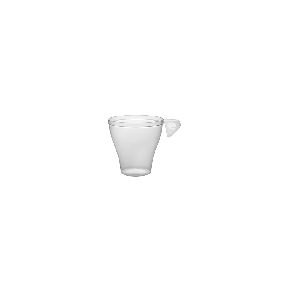 Tazza caffè Moka monouso in plastica cl 9